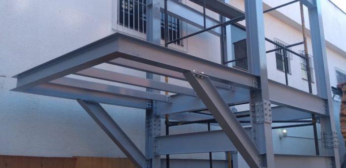 Estrutura de elevador – Nossa Clínica – Sorocaba / SP